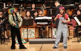 藉由樂曲的安排與主持人生動的解說,深入淺出的讓小朋友了解中國音樂